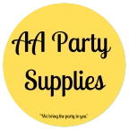 AA PARTY SUPPLIES